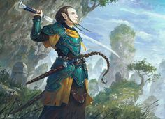 elf fantasy artstation warrior blademaster elves veli vablo deviantart artwork character mountain soldier tolkien fighter characters paintings drawings warfare wraithdt