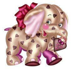 5948199_PPS_CH7 (700x679, 378Kb) Cartoon Elephant, Cute Elephant, Cute Baby Cartoon, Wildlife Art, Cute Bunny, Make Me Smile, Dream Catcher, Cute Pictures, Kitty Cats