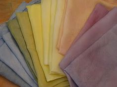 Teaching Handwork: plant dyeing silks for the kindergarten rainbow bridge Waldorf Kindergarten, Herbal Plants, Inspired Learning, Crafts For Kids To Make, Kids Crafts, How To Dye Fabric, Dyeing Fabric, Preschool At Home, Rainbow Bridge