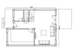 casa duplex 308 Floor Plans, Home, Duplex House, Homes, Ideas, House, Ad Home, Haus, Floor Plan Drawing