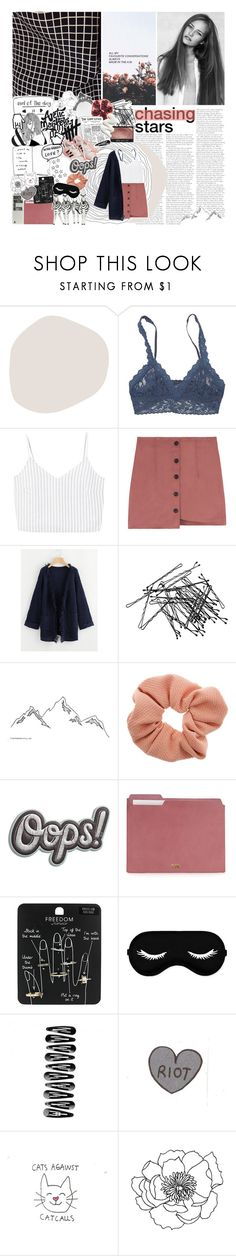 """♡ FOUND MY MISSING PIECE"" by positivitea ❤ liked on Polyvore featuring Hanky Panky, MANGO, H&M, Dorothy Perkins, Anya Hindmarch and Topshop"