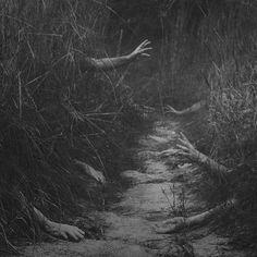 Haunted path...helllll no.