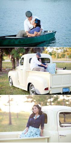 1940s inspired engagement shoot (Thompson Photography Group)