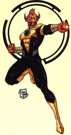 Romat-Ru, wanted serial killer of Xudar and Sinestro Corps Soldier of Sector 2813.