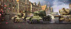World of Tanks — Free Online War Game Tank Wallpaper, Alucard, World Of Tanks, Military Art, Military Vehicles, World War, Book Art, Animation, Game