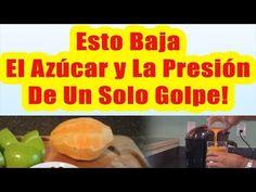 Esto Baja El Azucar y La Presion De Un Solo Golpe COMO CONTROLAR LA DIABETES Y BAJAR LA TENSION - YouTube