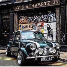 mini - Mini, what else? Mini Cooper S, Mini Cooper Classic, Classic Mini, Cooper Car, Classic Cars British, John Cooper, Retro Cars, Vintage Cars, My Dream Car