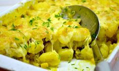 Gouda, Gnocchi, Curry, Poultry, Cauliflower, Macaroni And Cheese, Cake Recipes, Treats, Chicken