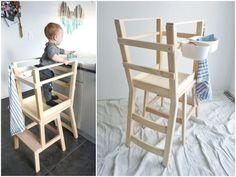 Ikea hack lernturm selber bauen learning tower learning tower