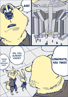Zootopia News Network: Comic: After the Case, Part 3 (Comic by Bov) (Translated by the ZNN Translation Team)