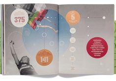 NIS Annual Reports 2012 by Metaklinika , via Behance