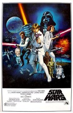 Amazon.com - (24x36) Star Wars: A New Hope Vintage Movie Poster Print