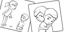 1000 images about sofia and caleb on pinterest caleb for Jw coloring pages