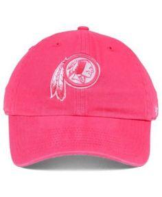 47 Brand Women s Washington Redskins Pastel Clean Up Cap - Purple  Adjustable Washington Redskins f6b7d1c79