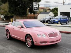 pink bently. want.