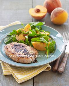 A delicious summer meal from The Everyday DASH Diet Cookbook.