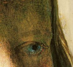 Andrew Wyeth - Helga 'Pageboy' (detail) 1979. Drybrush | Flickr - Photo Sharing!