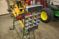 The Little Tractor Co. specializes in custom hand made half scale tractors. Lawn Mower Tractor, Tractor Seats, Lawn Tractors, Garden Tractor Pulling, Welding Shop, Blacksmith Shop, Mini Farm, Welding Projects, Lawn And Garden