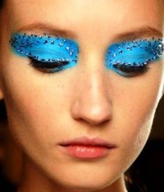 Make up Dior Swarosky on http://www.blogandthecity.it/tendenze-2013-il-make-up-nude/