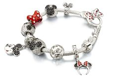 New Disney charm beads from Chamilia! Minnie, Mickey and more of the Disney gang are available! Charms are compatible with Pandora, Troll beads and more! Available at Fairy-tales-inc.com