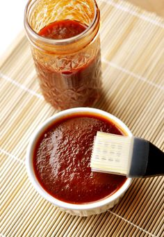 This seriously is the BEST sauce!! Mel's Kitchen Cafe | The Best Barbecue sauce  Since it breaks down during cooking, I prefer to bake or grill ribs with a spice rub and then slather this sauce on afterwards.