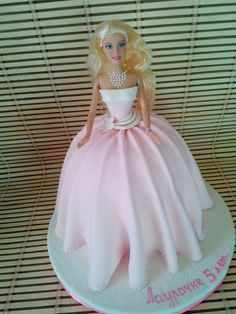 - Barbie Birthday Cake, Barbie Cake, Barbie Party, Barbie Dress, Baby Doll Cake, Doll Cakes, Baby Dolls, Creative Cake Decorating, Creative Cakes