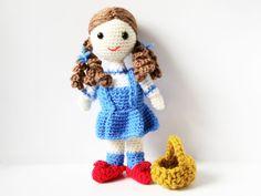 Free+Patterns+For+Amigurumi+Animals | Amigurumi Pattern Crochet Doll - Dorothy -