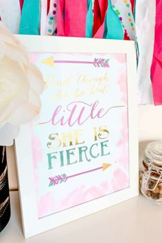 DIY Gold Foil Quote Sign