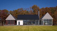 Becherer House / Robert M. Gurney Architect/ Albemarle County, Virginia, USA...