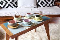 Martin Boyd Ramekins, 1950s Mid Century Australia Pottery Guy Martin, Pink Plates, Vintage Pottery, Dog Bowls, 1950s, Mid Century, Australia, Ceramics, Spring