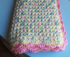FREE Crochet - Crochet Attic: Baby Emma's Blanket