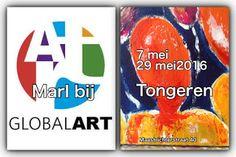Kom binnen in de Kunstgalerie van Marl.Decoratieve schilderijen: Expo bij Gallery Global Art Tongeren