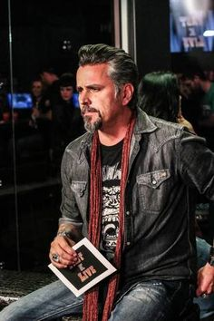 Fast and Loud's Richard Rawlings Live on Discovery Channel's Fast N' Loud Live Clip Show Watch Party at Gas Monkey Bar and Grill on Jan 13, 2014