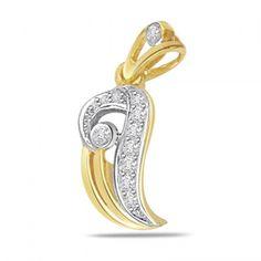 P436 - Fall in love Diamond Pendant