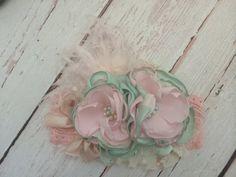 Baby Girl Headband-Flower Girl от AvryCoutureCreations на Etsy