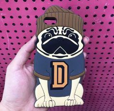 3D Pug iphone6 6s Soft-Back Phone Case – PawzOutlet