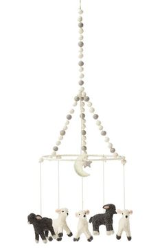 Free shipping and returns on Petite Pehr 'Little Lamb' Mobile at Nordstrom.com. Adorable lambs handcrafted from felted wool hang from a pompom-trimmed mobile that adds an enchanting touch to baby's room.