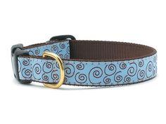 Curly-Q Dog Collar