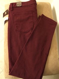Patricia, I've heard great things about these, and I know I need them! Burgundy knit skinnies , Kut from the Kloth, Danny 5 pocket knit pants/ Stitch Fix September 2014