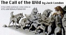 The Call of the Wild Call Of The Wild, Wild Wolf, Left Alone, Dog Names, Happy Dogs, Audio Books, Books To Read, Novels, London