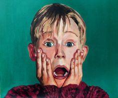 Macaulay Culkin #degranero #cursos #dibujo #pintura #fotografía #madrid #clases #academia #taller #arte #bellasartes  www.degranero.es