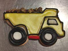 Dump truck cookie by BennysBakeryCakes, via Flickr