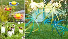 13 Garden Décor Ideas