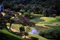 The Montiero Garden near Petropolis, Brazil