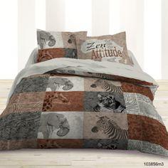housse de couette afrique et savane. Black Bedroom Furniture Sets. Home Design Ideas