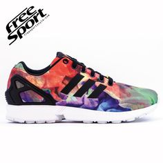 more photos 4dc91 f2050 Scarpe Adidas Zx Flux multicolor Adidas Uomo, Gioco Di Scarpe, Adidas  Originals