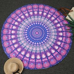 SHARE & Get it FREE | Bohemia Feather Mandala Vortex Print Round Beach ThrowFor Fashion Lovers only:80,000+ Items • FREE SHIPPING Join Twinkledeals: Get YOUR $50 NOW!