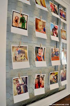 DIY: Frame fror Instagram display