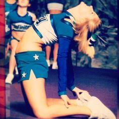 love cheerleading