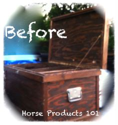 DIY Tack Trunk,  go to www.horseproducts101.com to find out how You can do the same thing!